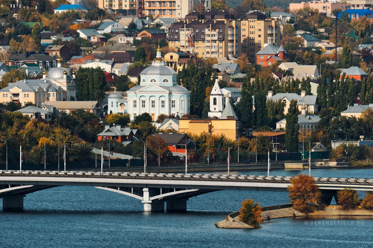 Золотая осень в Воронеже